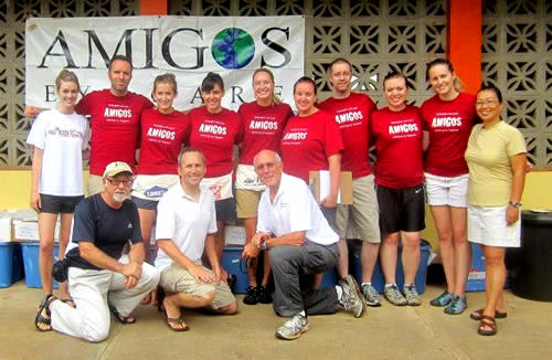 The 2012 Amigos Eyecare Team