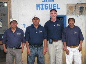 Pedro, Arnulfo, Scott, Felipe