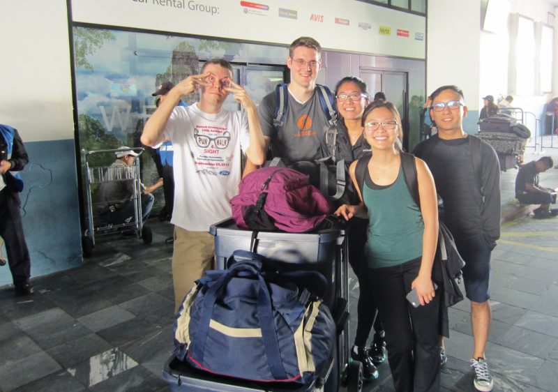 "The 2016 AMIGOS, ""fresh"" off a red-eye flight to Guatemala"
