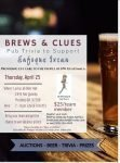 "BREWS & CLUES Pub Trivia to Support Enfoque Ixcan providing eye care to the people of NW Guatemala. WHEN: Thursday, April 25 7-9 pm (check-in 6:45 pm) WHERE: Lucky Lab Beer Hall 1945 NW Quimby Portland, OR 97209 COST: $25/team member REGISTER YOUR TEAM: RSVP to Jessica by Friday, April 12 Email: JessicaLynchOD@frontier.com by Text: to 503-504-4989 Bring your team and get a chance to win fabulous prizes! Opportunities to ""Buy a Lifeline"" (actually , and Amigos student) to help your team win! AUCTIONS - BEER - TRIVIA - PRIZES"