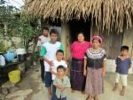 A multigenerational Guatemalan family