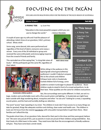 Our Fall 2020 Newsletter in .pdf format